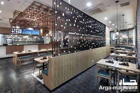 معماری داخلی رستوران زیبا