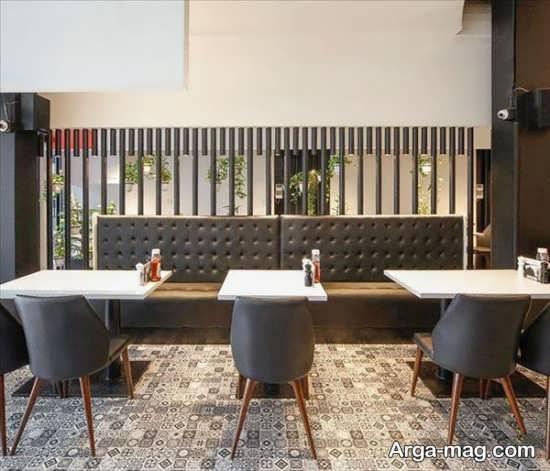 تصاویر معماری داخلی رستوران