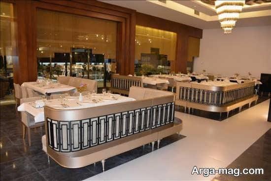 معماری داخلی و شیک رستوران