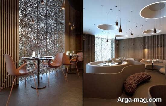 جدیدترین معماری داخلی رستوران