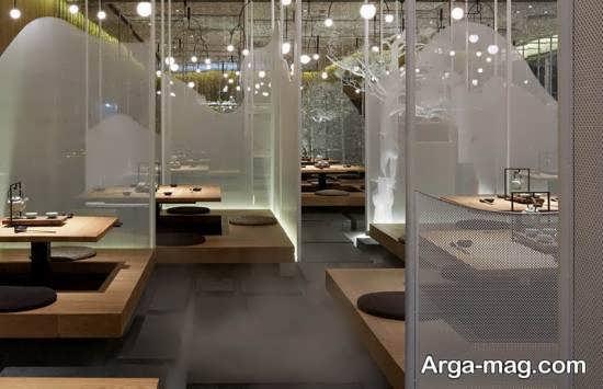 طراحی دکور رستوران به سبک کره ای