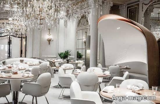 طراحی رستوران شیک و زیبا