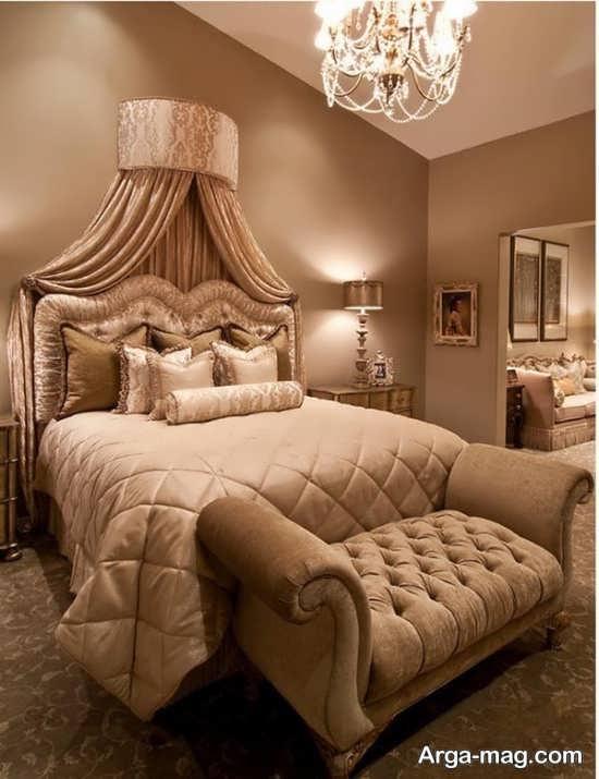 عکس های تخت خواب سلطنتی