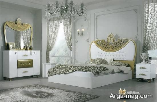 مدل تخت خواب سلطنتی