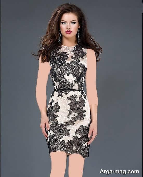 مدل بالاتنه های شیک پیرهن مدل لباس گیپور کوتاه دخترانه جدید و بسیار زیبا - روجانیوز