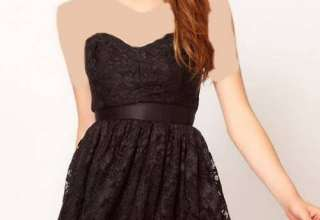 لباس گیپور دخترانه