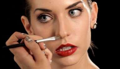 نحوه کوچک کردن بینی با آرایش و گریم