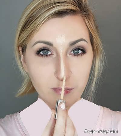 نحوه کوچک کردن بینی با روشی آسان