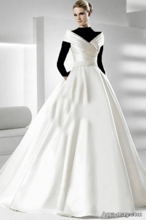 لباس عروس ساده و جذاب