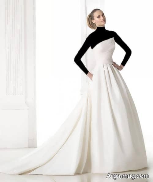 مدل لباس عروس جدید و شیک اروپایی