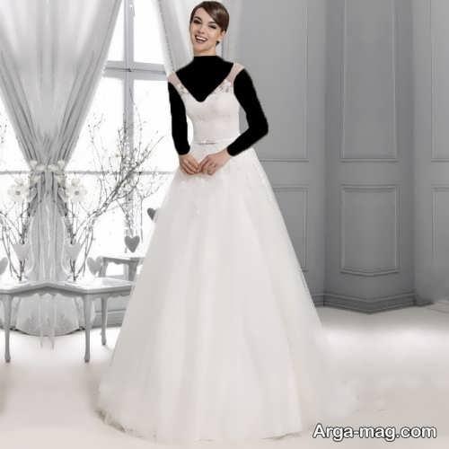 لباس عروس شیک و جدید اروپایی