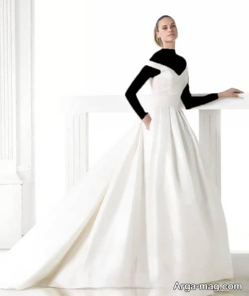 لباس عروس ساده شیک و جذاب