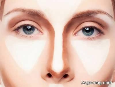 کوچک شدن بینی با آرایش