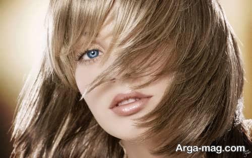 رنگ موی دودی عسلی