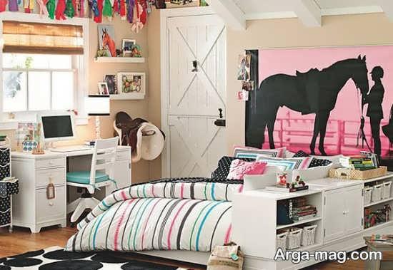 اتاق نوجوان دخترانه