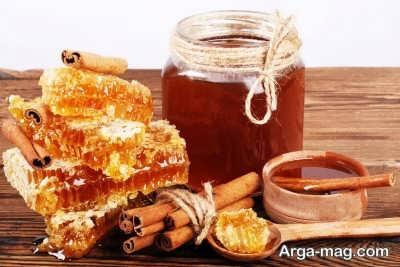 درمان معده درد و ترش کردن با عسل