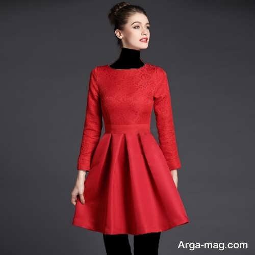 جدیدترین مدل لباس مجلسی کوتاه پوشیده