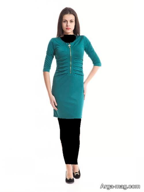 مدل لباس مجلسی سبز و شیک