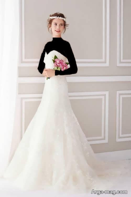 مدل لباس عروس برای افراد لاغر با طرح های زیبا و مد روز