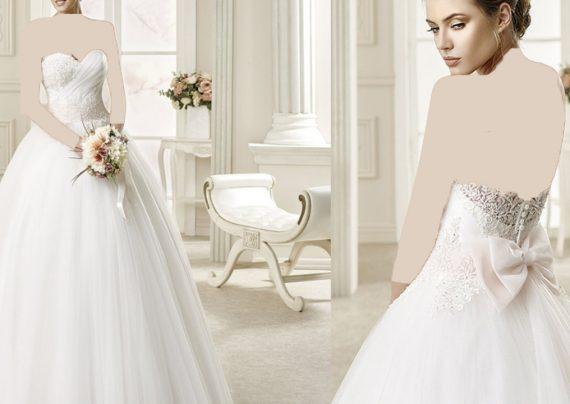 مدل لباس عروس برای افراد لاغر