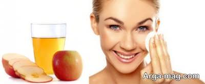 خواص سرکه سیب برای پوست