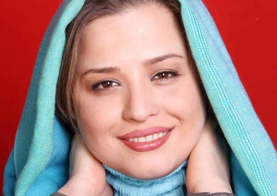 مهراوه شریفی نیا در مشهد مقدس با چادر