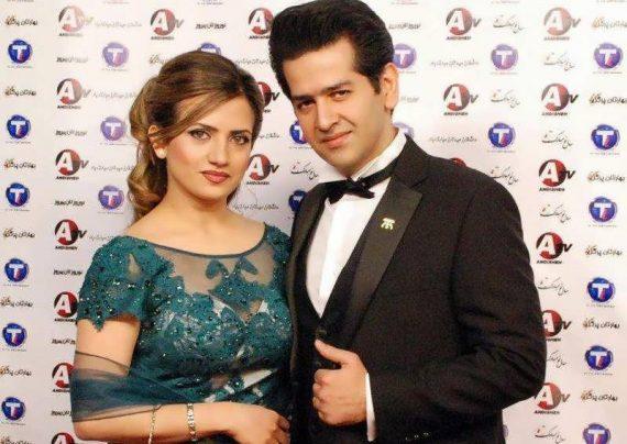 عکس همسر حمید طالب زاده که یک پزشک در آمریکاست