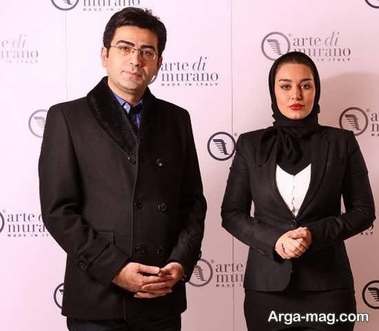 سحر قریشی و فرزاد حسنی
