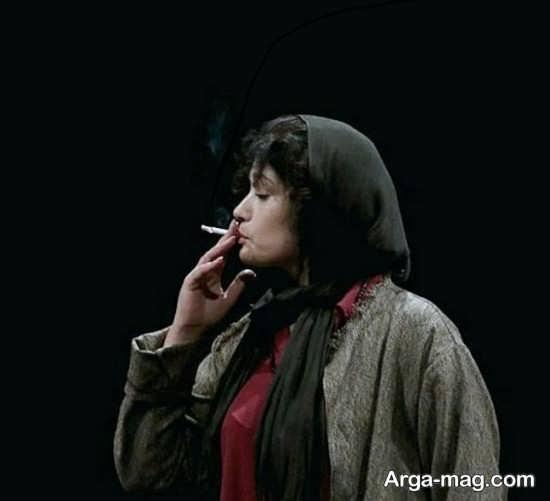 سیگار کشیدن لادن مستوفی