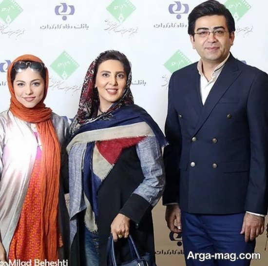 لیلا بلوکات و فرزاد حسنی