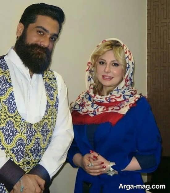 نیوشا ضیغمی و علی زند وکیلی