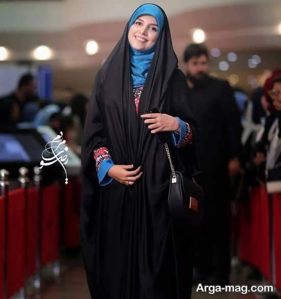 تیپ مژده لواسانی در جشن حافظ
