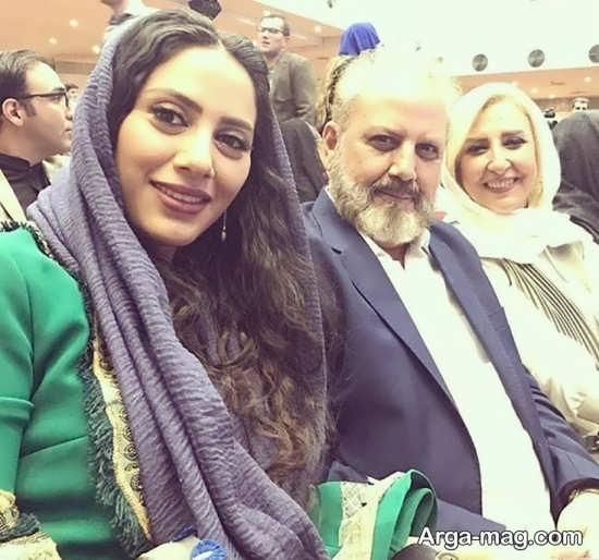 مارال فرجاد در جشن حافظ