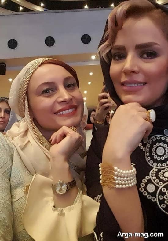 بازیگران زن در جشن حافظ 96