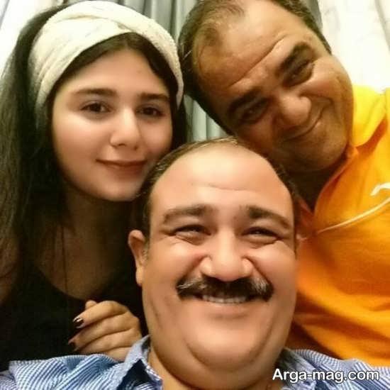 شباهت مهران غفوریان به برادرزاده اش تارا