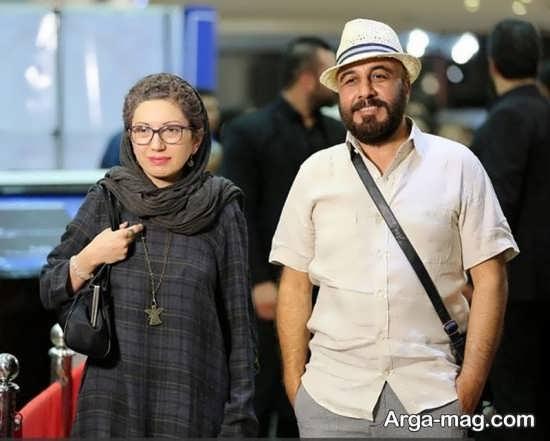 عکس زیبای رضا عطاران و همسرش