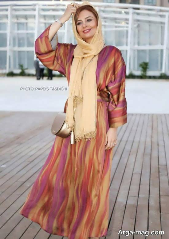 مدل مانتوی بلند یکتا ناصر