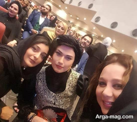 عکس جدید بازیگران زن در جشن حافظ