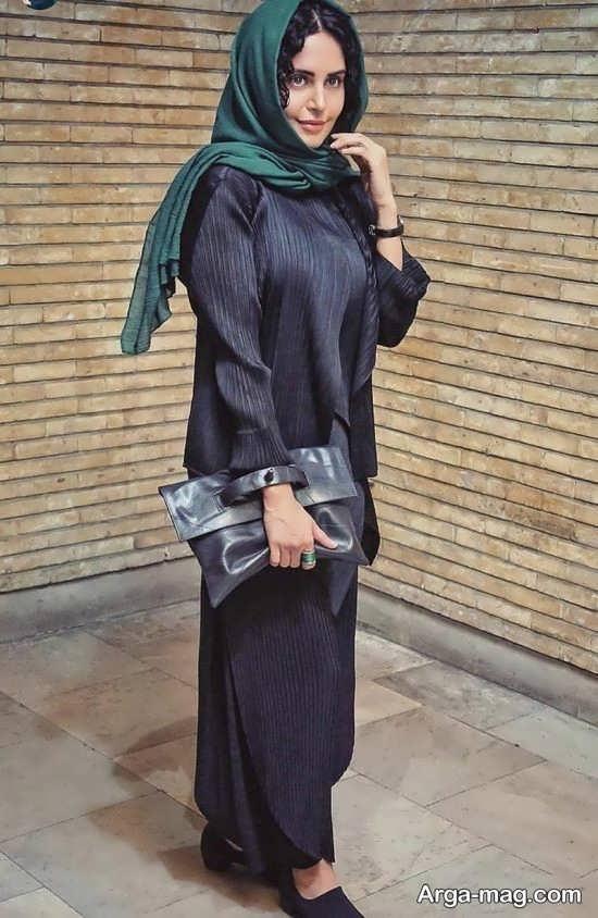 مدل مانتو زیبای الناز شاکر دوست
