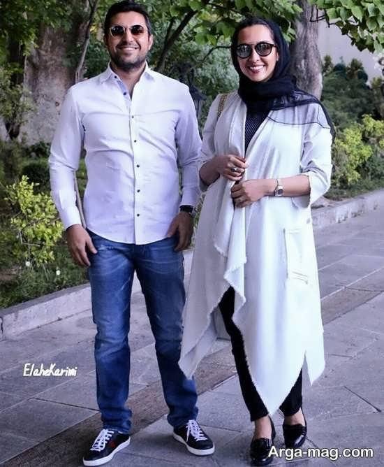 تیپ تابستانی اشکان خطیبی و همسرش