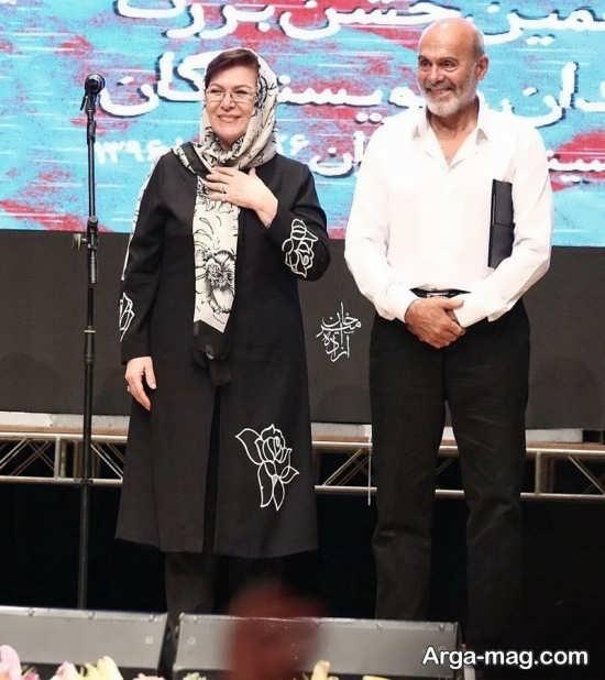 عکس همسر جمشید هاشم پور