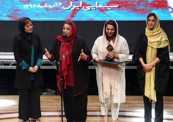 بازیگران زن در جشن منتقدان سینما