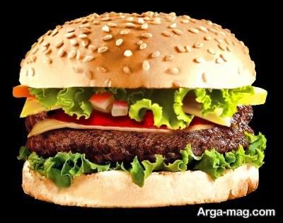 درست کردن همبرگر