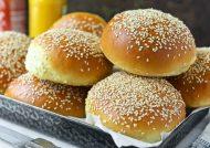 طرز تهیه نان همبرگر