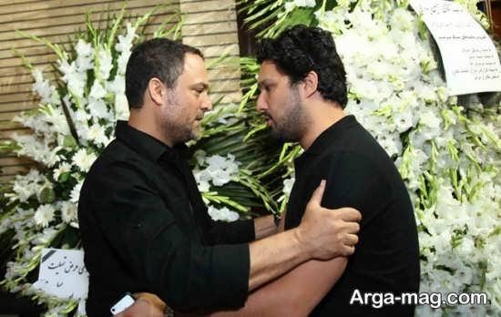 حامد بهداد در کنار حسین یاری