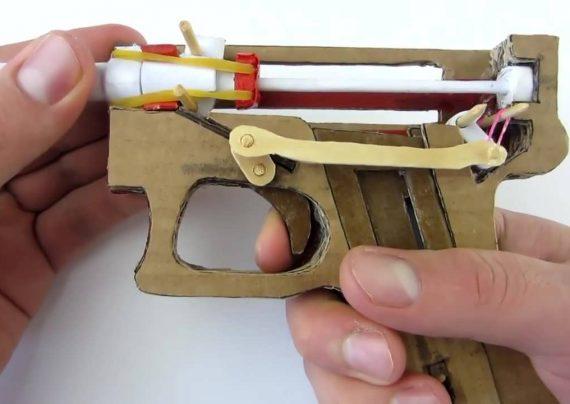 ایده های تازه برای ساخت کاردستی تفنگ