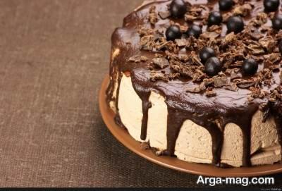 پخت کیک شکلاتی فندقی