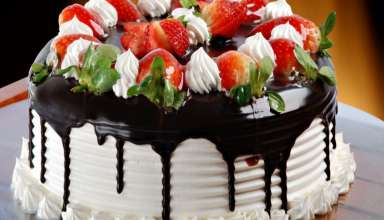 طرز تهیه کیک فندقی شکلاتی