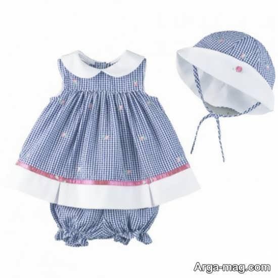 لباس نوزادی دخترانه
