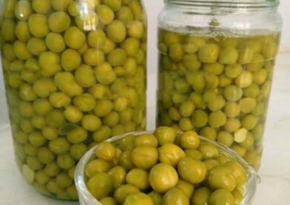 طرز تهیه کنسرو لوبیا سبز